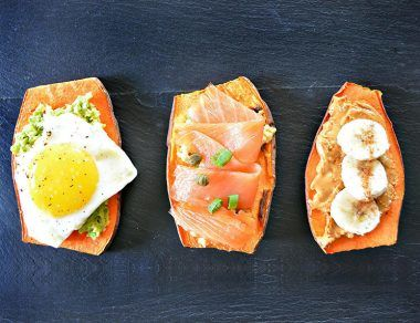 3 Sweet Potato Toast Recipes