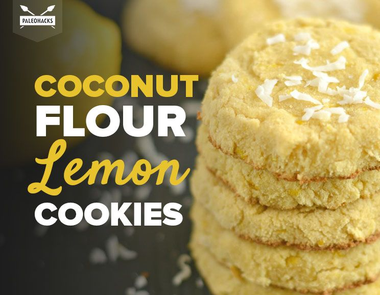 Coconut Cake Recipe Keto: Coconut Flour Lemon Cookies With Maple Syrup