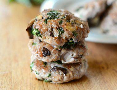 Kale and Mushroom Sausage Patties Recipe
