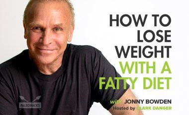 how to lose weight with a fatty diet podcast title card