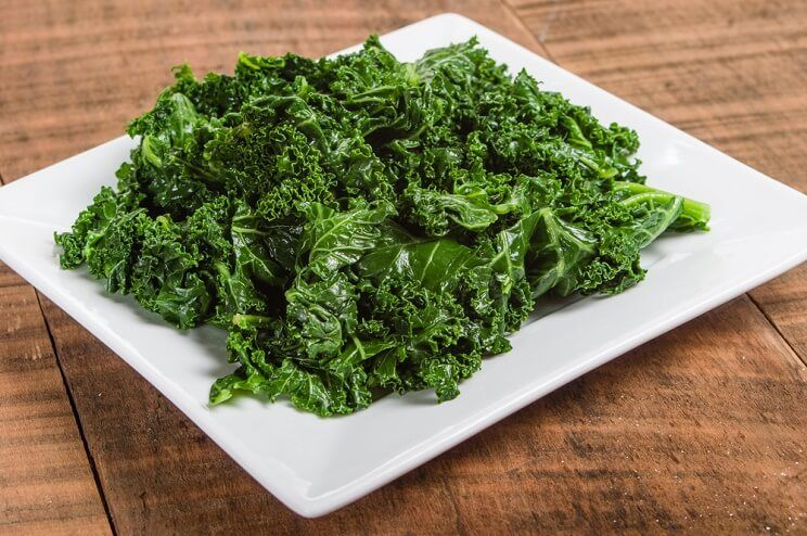 is kale healthier raw or cooked