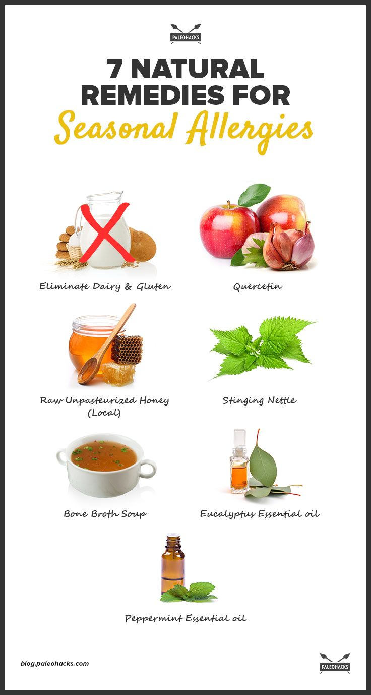 Natural Home Remedies For Nasal Allergies