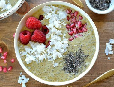 Awakening Matcha Smoothie Bowl Recipe