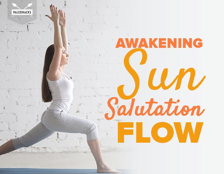 Awakening Sun Salutation Flow