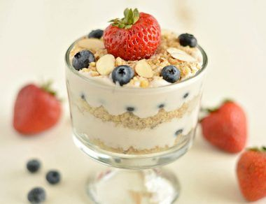 Healthy Coconut Yogurt-Less Parfait Recipe