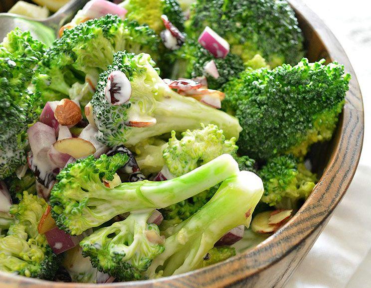 Hearty Cranberry Honey Broccoli Salad