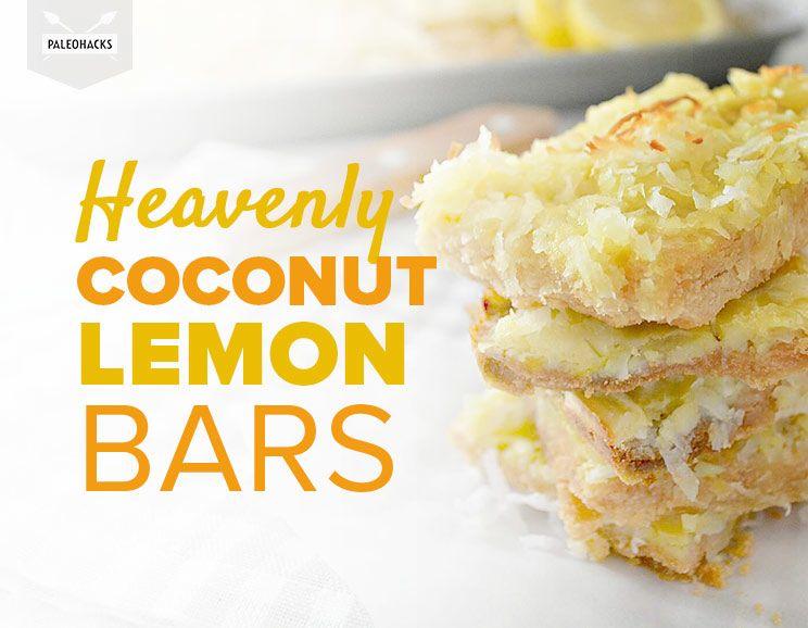 Heavenly coconut lemon bars healthy grain free heavenly coconut lemon bars featured img audiocablefo