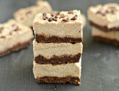 No-Bake Coffee 'Cheesecake' Bars