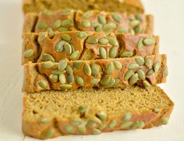 paleo pumpkin cornbread featured image