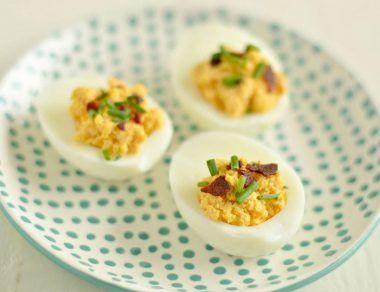 jalapeno bacon deviled eggs featured image