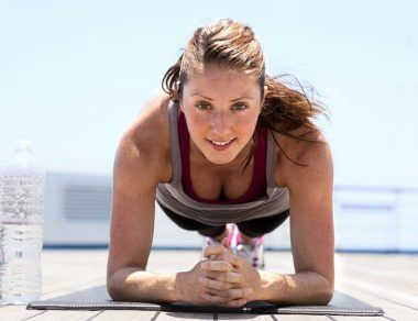 7-Minute Ab Sculpting Plank Workout