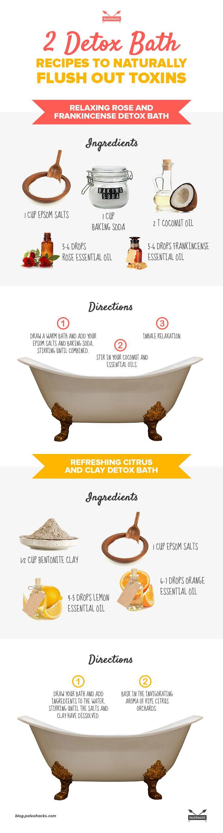 Best detox bath recipes