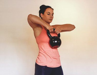 kettlebell fat-burning workout featured image