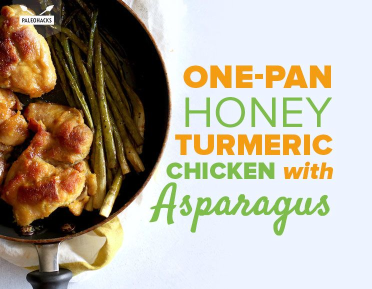 One-Pan Honey Turmeric Chicken with Asparagus