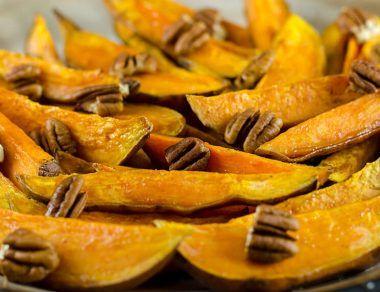 Baked Sweet Potato Wedges Recipe