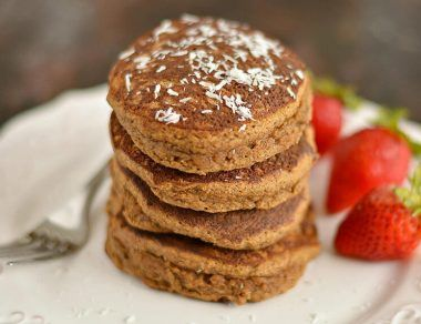 gingerbread pancakes featured image