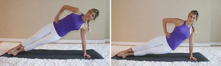 Resultado de imagen de Side Plank Hip Dips