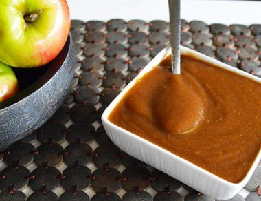 slow cooker apple butter recipe featured image