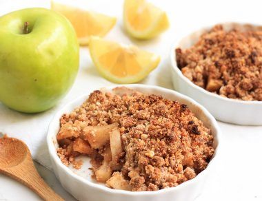apple crumble featured image