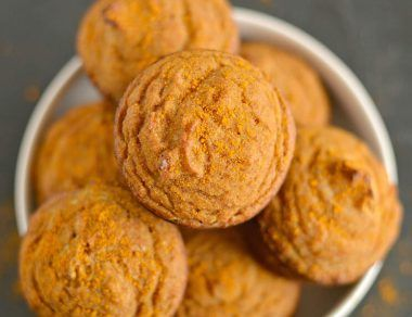 Turmeric Coconut Flour Muffins Recipe