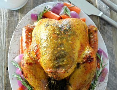 Turmeric and Honey Roast Turkey