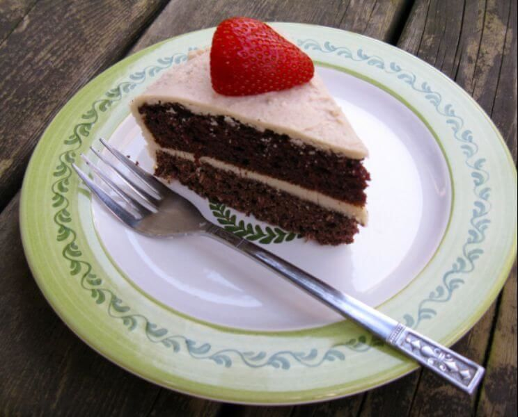 Against All Grain Chocolate Layer Cake