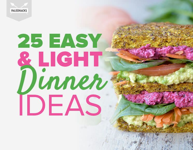 26 easy light dinner ideas skewers bowls salads 25 easy light dinner ideas forumfinder Image collections