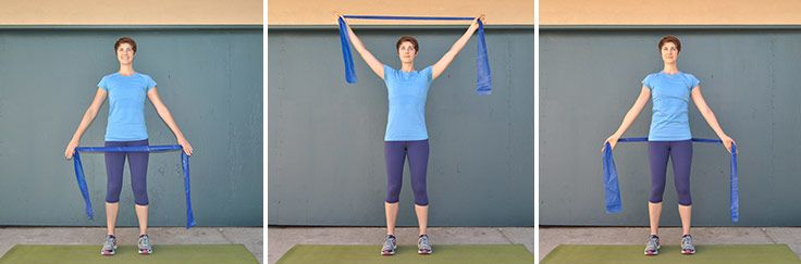 15 Minute Resistance Band Triceps Workout Tone Tighten