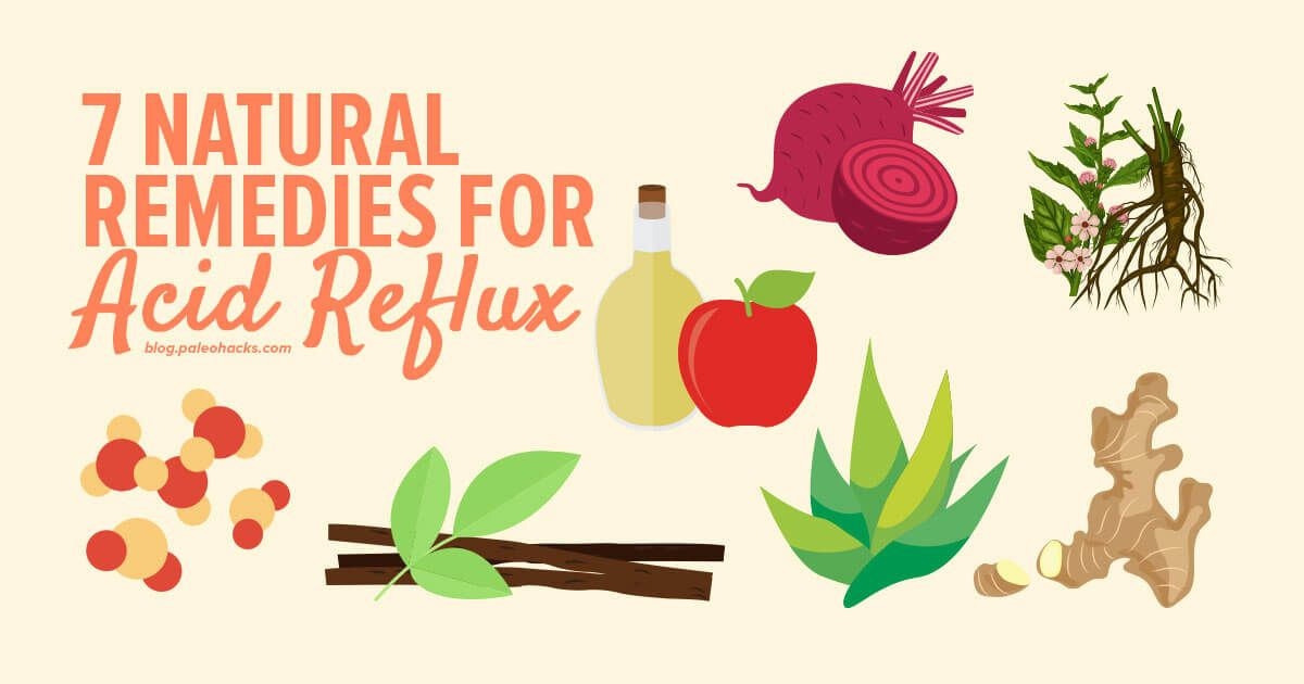 Natural Remedies For Getting Rid Of Heartburn