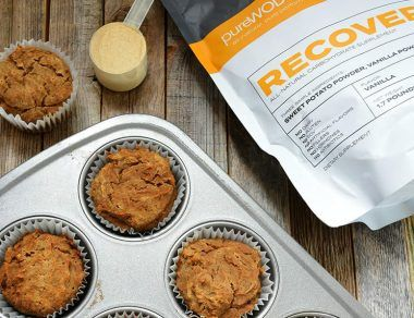 Sweet Potato Turmeric Muffins