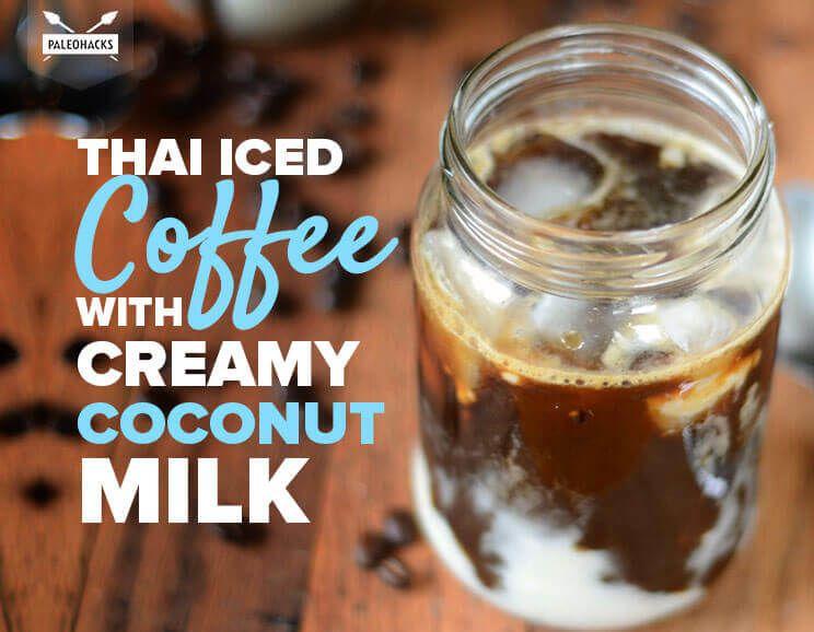 Thai Iced Coffee with Creamy Coconut Milk | Dairy-Free