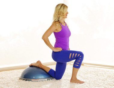 The Bosu Booty-Sculpting Workout