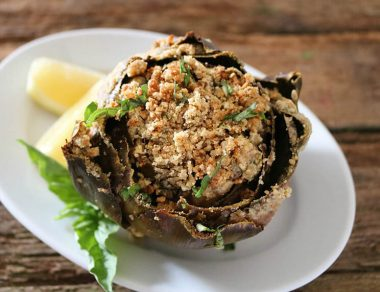 Baked Stuffed Artichokes Recipe
