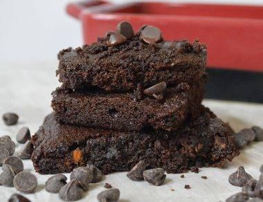 'I Want To Marry You Brownies' aka Chocolate Sweet Potato Brownies