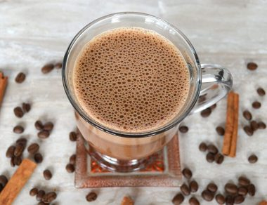 Mexican Mocha with Silky Coconut Oil