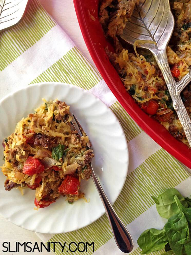 Recipes for spaghetti squash paleo easy