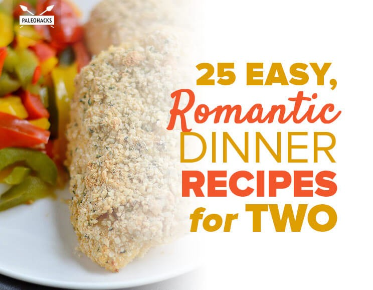 25 easy romantic dinner recipes for two