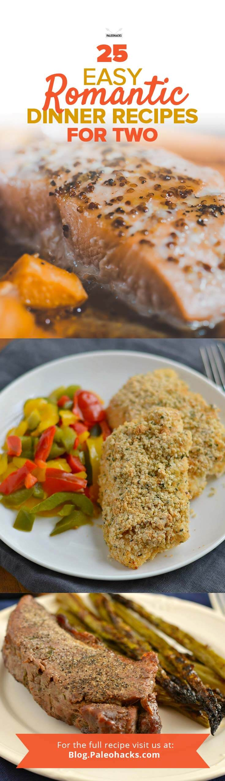 25 easy romantic dinner recipes for two paleohacks for Romantic dinner for 2 recipes