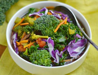 One-Pot Detox Vegetable Soup