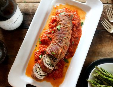 Romantic Braciole-Inspired Paleo Recipe