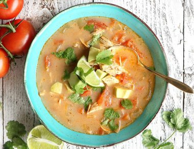 Slow Cooker Chipotle Chicken Soup