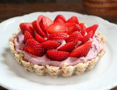 Strawberry 'Cheesecake' Love Tarts for Two