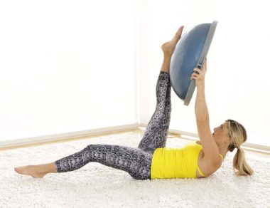 15-Minute Bosu Ball Ab Workout