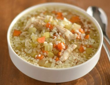 cauliflower soup featured image