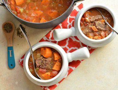 Rainy Day Beef Tomato Soup