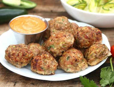 Spicy Meatball Recipe with Grated Zucchini