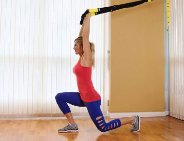TRX Lunge Workout for Strong, Toned Legs