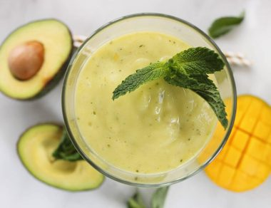 Triple Threat Avocado Smoothie