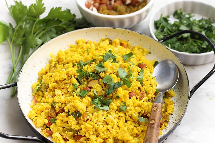 how to serve cauliflower rice