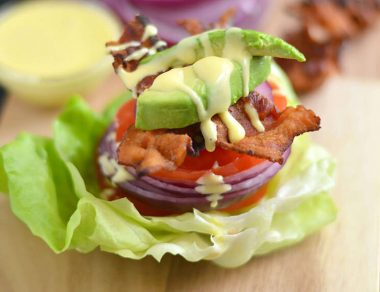 BLT Avocado Stack (Plus: 2-Minute Creamy Blender Mayo)